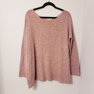 Piko 1988 dusty rose colored lightweight sweater
